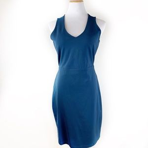 Gianni Bini adorable ruched tie open back dress